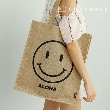 Jute Bags Hemp Bags Jute Dotted Back Jute Eco Bag