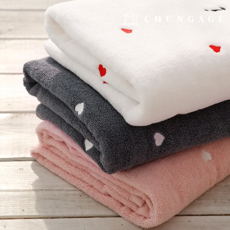 Large Towel Embroidered Towel Bath Towel, Beach Towel, 3 Types