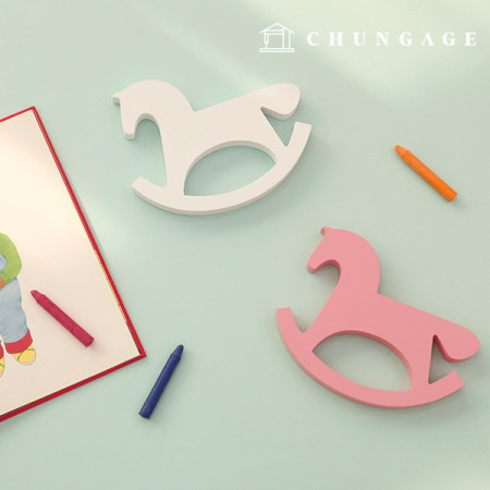 Wooden decoration wall decoration 4 kinds of wooden toys