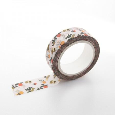 Design Paper Masking Tape Mandarin Blues TA054