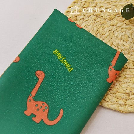 Waterproof fabric Dahuda waterproof fabric Large Islandino Green Animal Bag Lining Poly W076