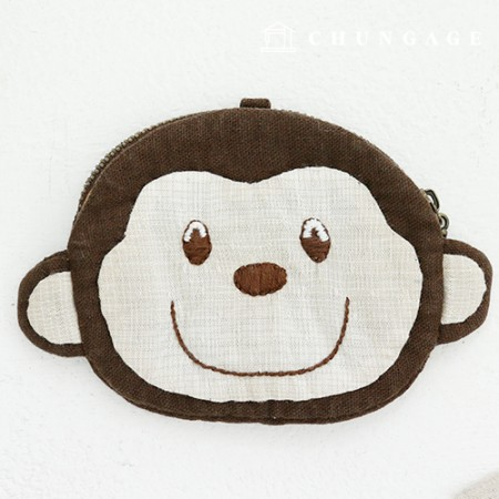Quilt Package DIY Kit Monkey Coin Purse CH-611778