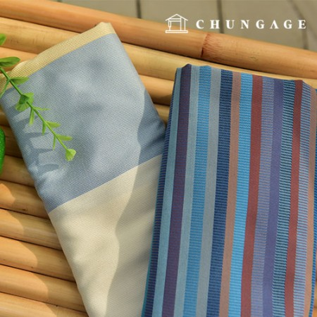 Ombre Stripe, 2 types of Jacquard Curtain fabrics
