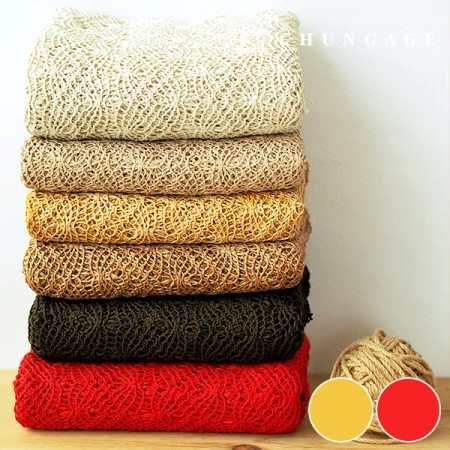 2 types of large color knitting knit