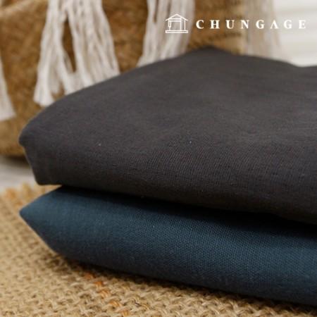 Double Gauze Wide Pure Cotton Plain Fabric 2 types