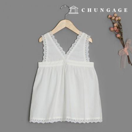 Clothing pattern children's layered dress clothing pattern [P1401]