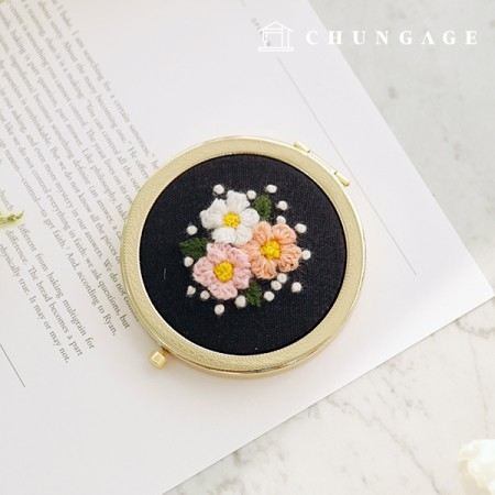 French Embroidery Package Flower DIY Kit Lydia Mirror CH-512027 Hobby at Home