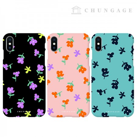 Cell Phone Case Jelly Flower (3 types) CA066 iPhone Galaxy All Phone Cases