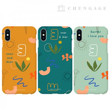 Cell Phone Case Near & Deer (3 types) CA071 iPhone Galaxy all phone cases