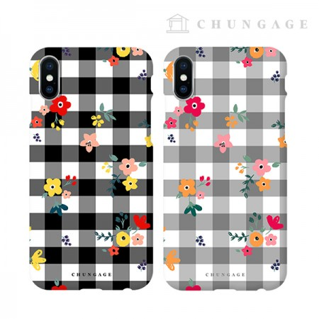 Cell Phone Case Checkmate (2 types) CA073 iPhone Galaxy all phone cases