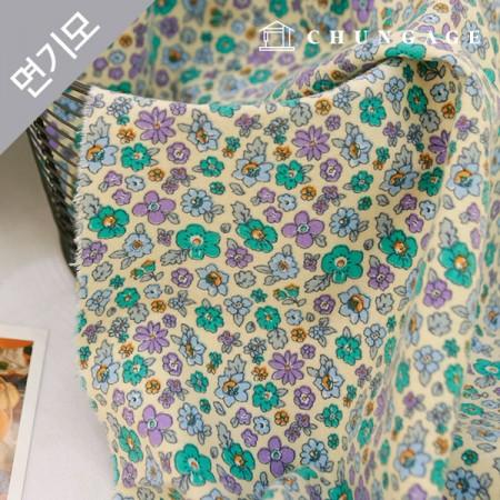 Cotton brushed microfiber winter fabric Jardino