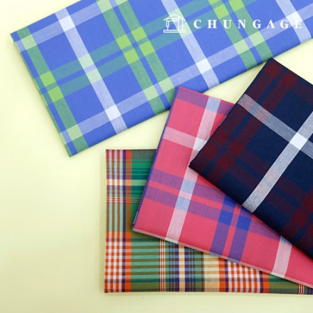 40 cotton yarn dyed check fabric picnic 4