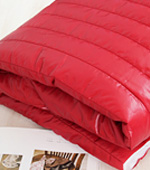 Wide Padding Fabric Shinee Nylon 5cm quilting Stripe Red