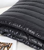 Wide Padding Fabric Shinee Nylon 5cm quilting Stripe Black