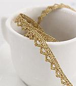 019 Toshonreisutoshon Triangle Small Gold Clothing Ribbon Lace
