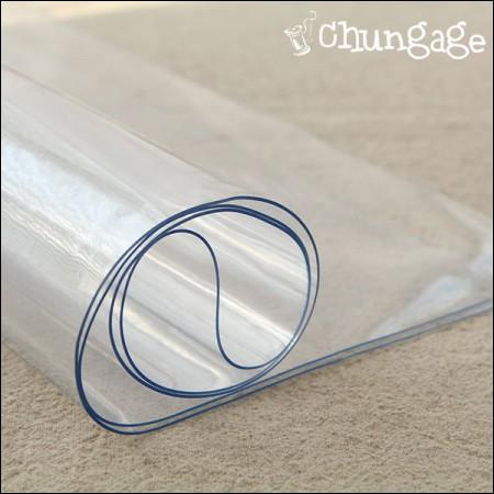 PVC Waterproof Fabric Vinyl Fabric transparent1mm 1 / 2Hermp PVC Bag Making Material