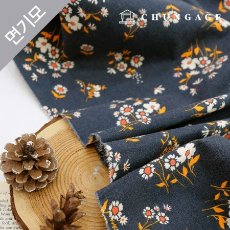 Cotton brushed microfiber fabric Autumn Edition