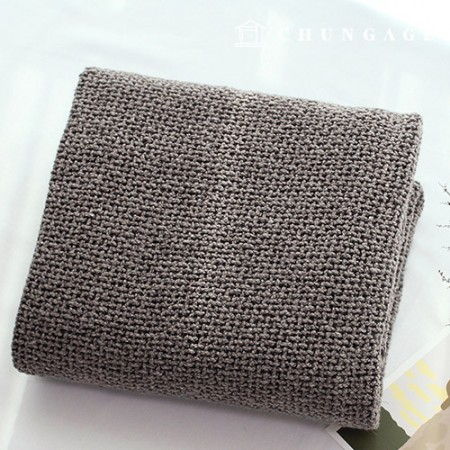 Wool blend winter fabric Choco brown