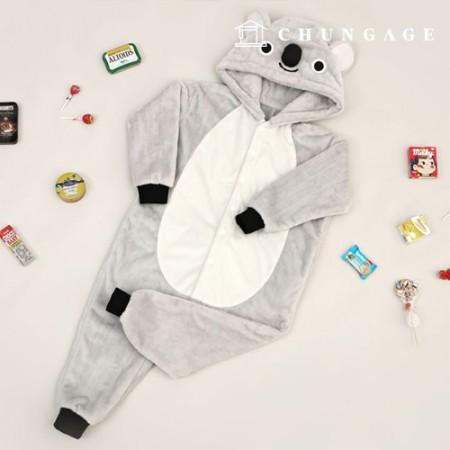 Clothing Pattern Children's Pajamas Koala Pajamas Animal Pajamas [P1441]