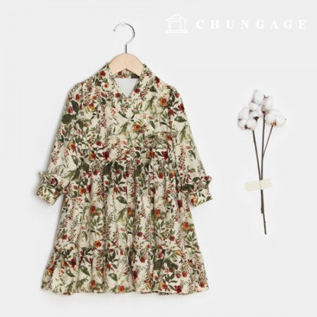 Clothes Pattern Children Hanbok Dress Children Dress [P1470]