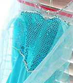 Spangle Fabric Shine 3mm Dot 14color Beach Frozen Elsa Dress