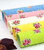 Cotton blend) five kinds of mini Flower (Green) [2830]
