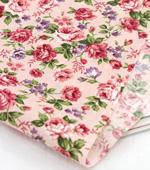 Cotton blend) rose flower three kinds (Pink) [2837]