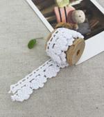Toshonreisutoshon 027 Sprout cotton lace White