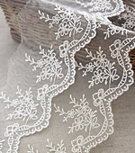 Mesh Lace Mesh029 Forget-me-not (Natural)