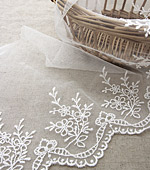 Mesh Lace Mesh029 Forget-me-not (white child)