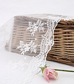 Table runner Race R003 Rose whiteivory