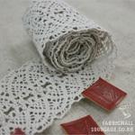Toshonreisutoshon 016 Linen Grace 5cm Clothing Ribbon cotton lace