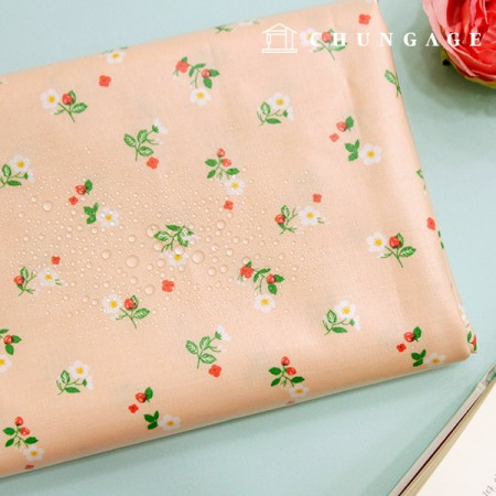 Waterproof fabric laminate Non-toxic TPU waterproof fabric Sugar berry Flower floral design