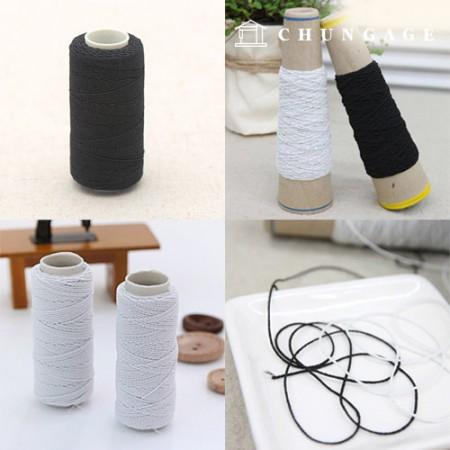 Rubber thread 2color