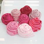 Satin Fabric Span Satin Fabric Bodré Pink 8 types