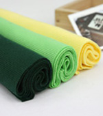 1: 2 rainbow cotton shibori series green color 3color