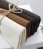 1: 2 rainbow cotton shibori series Brown series 4color
