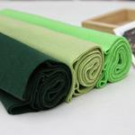 1: 1 rainbow cotton shibori series green color 3color