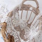 Mesh Lace R017 Lovely Ribbon Large White