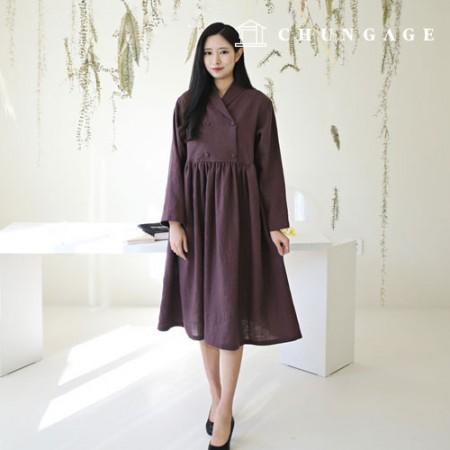 Patterns Women's DressPatterns Shawl Collar DressPatterns ClothingPatterns [P1473]