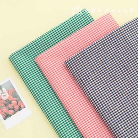 60 Cotton Fabric Ombre Washing Asa Gobang Check Fabric Picnic 3 Types
