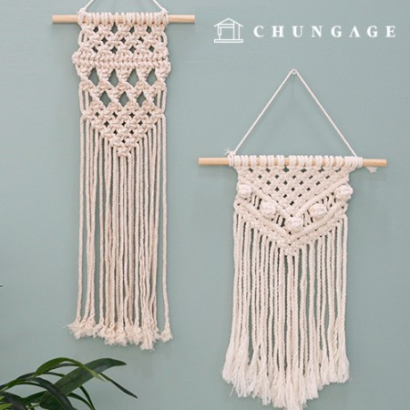 Macrame Wall Hanging Making Kit Hobby DIY Kit Beginner's Package Set