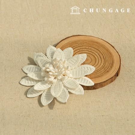 Special price motif Three-dimensional flower motif