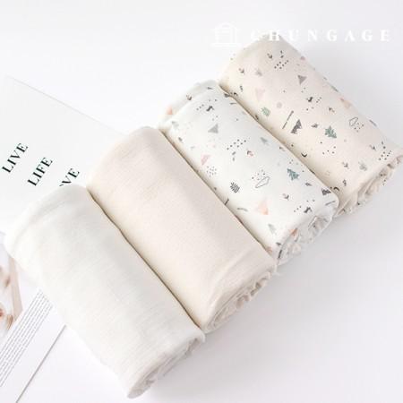 Modal cotton triple paper Daimaru Laramun 4 types E0811