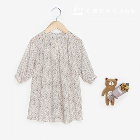 Clothing Pattern Children's One Piece Natural Style Clothing Pattern P1421
