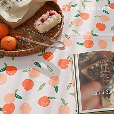 Waterproof fabric Melocotone Poly waterproof fabric Wide Peach 314