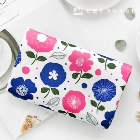 Bag Fabric Bag Paper Popflos Waterproof Cloth Poly Wide Flower Pattern
