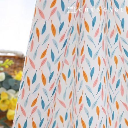 Bag Fabric Bag Paper Leaf Reef Waterproof Cloth Poly Wide 067