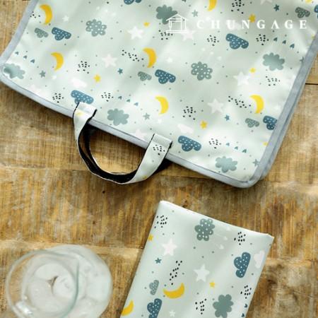 Bag fabric Bag paper Monglebi waterproof cloth Poly wide 076