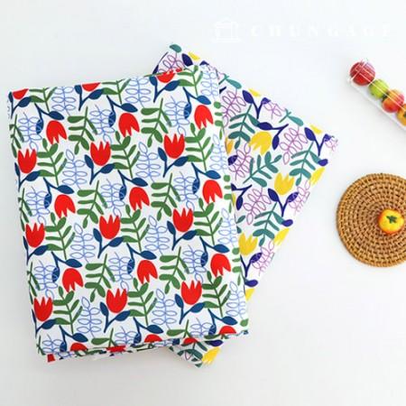 Bag fabric Bag paper Swing waltz Waterproof cloth Poly large flower Flower pattern 2 types
